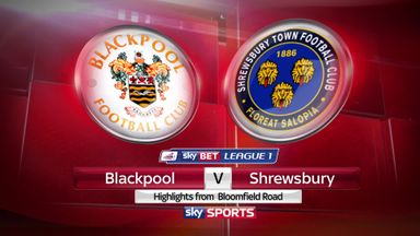 Blackpool 2-3 Shrewsbury