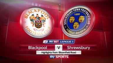 Blackpool 2-3 Shrewsbury