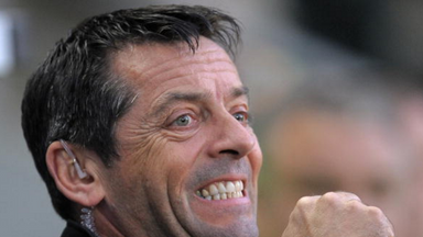 Phil Brown delighted to have landed Simon Cox.