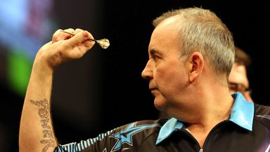 Phil Taylor was in imperious form in Newcastle