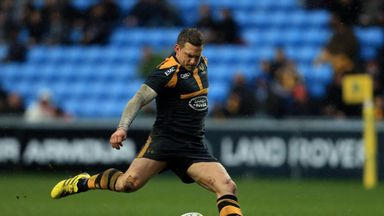 Wasps fly-half Jimmy Gopperth kicked three penalties against his former side