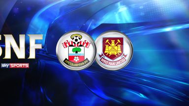 SNF: Southampton v West Ham United