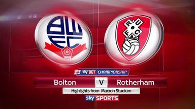 Bolton 2-1 Rotherham