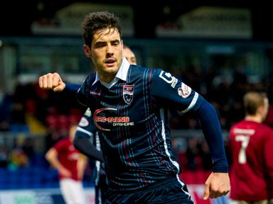 Ross County's Brian Graham earned his side a late win