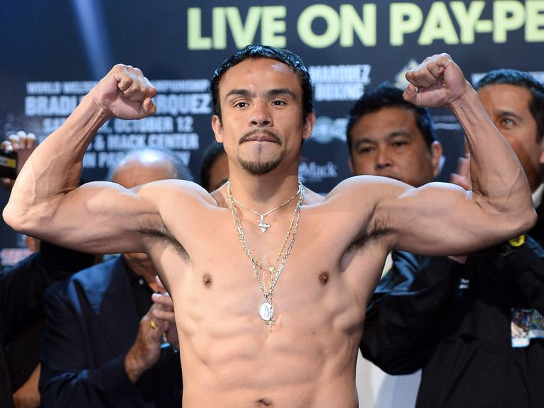 Juan Manuel Marquez is one of Mexico's all-time great fighters