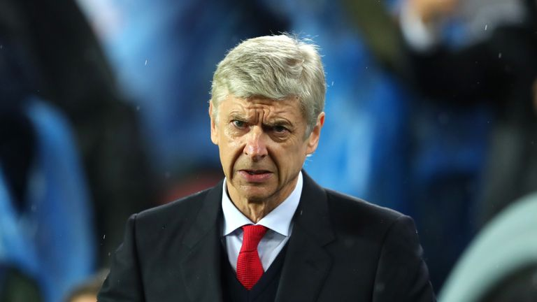 Arsene Wenger says his side have struggled to contend with injuries this season