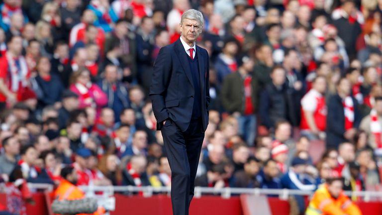 Arsene Wenger has seen Arsenal exit the FA Cup and Champions League in the past week