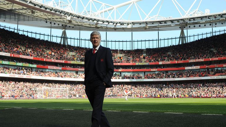 Arsene Wenger said in December that possession is becoming less important