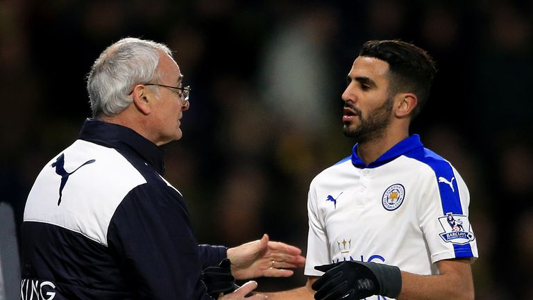 Riyad Mahrez is fit to face Newcastle after recovering from cramp against Watford