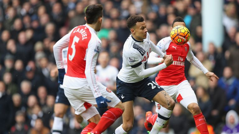 Tottenham's players out-ran their rivals Arsenal on Saturday