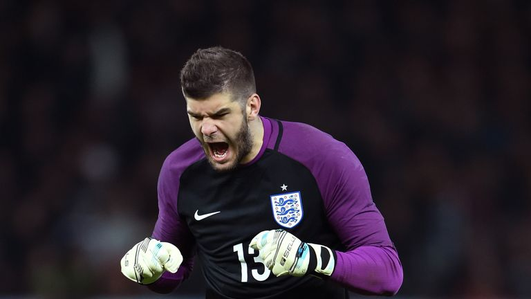 Fraser Forster out of England squad with arm injury ...