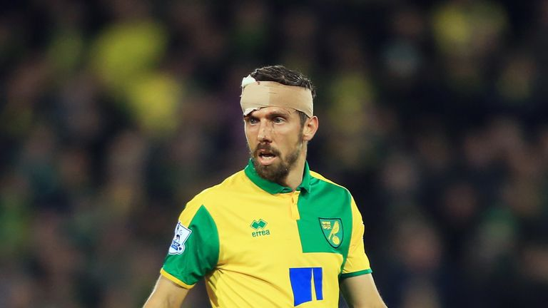 Gary O'Neil put in a man of the match performance for Norwich