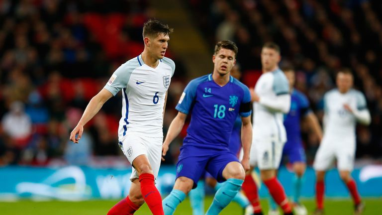 England are penciled in to play the Netherlands in Amsterdam next March