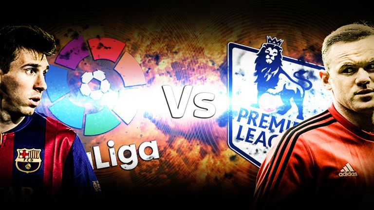 La liga v premier league barcelona top of english spanish table football news sky sports - Spanish league point table ...
