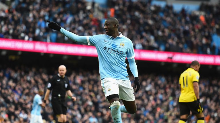 Yaya Toure will return for Manchester City against Dynamo Kiev