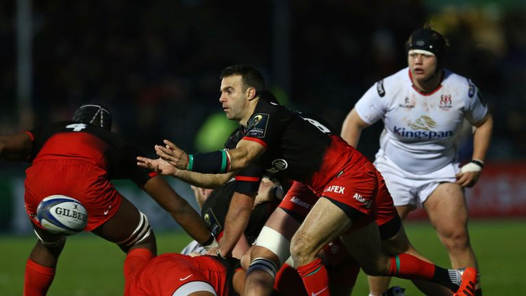 Neil de Kock is named on the bench for what could be his 250th appearance for Saracens