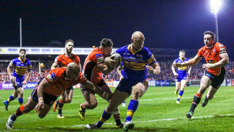 Leeds take on Castleford on Thursday