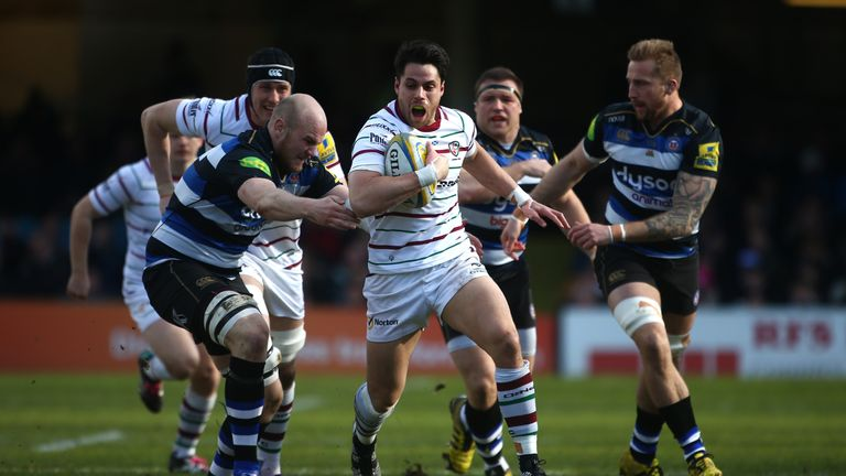 Scotland international Sean Maitland starts on the wing for London Irish