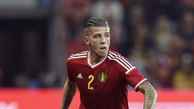 Toby Alderweireld will miss Belgium's clash with Portugal