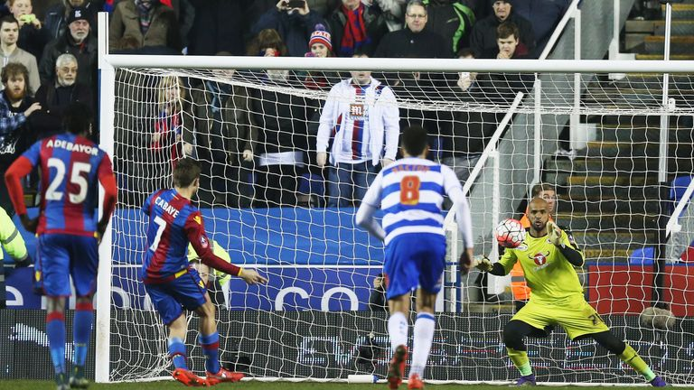 Cabaye scored Palace's opener from the penalty spot
