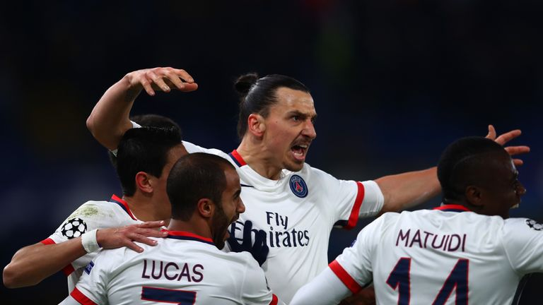 Zlatan Ibrahimovic was in fine form as Chelsea were beaten by PSG