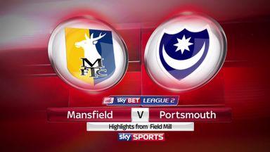 Mansfield 1-1 Portsmouth
