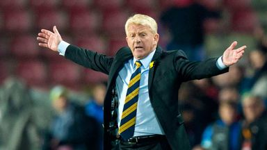 Gordon Strachan says his young players should enjoy these big challenges