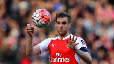 Per Mertesacker says Arsenal were lucky to finish ahead of other good teams in the Premier League