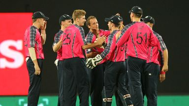 Scotland kept Hong Kong to 127-7 in Nagpur