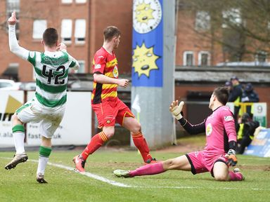 Partick had two home games against Celtic last season