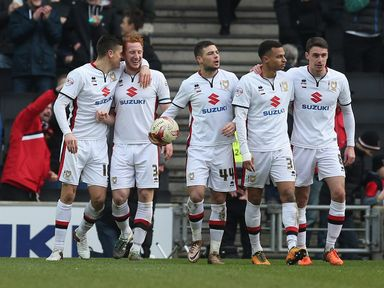 MK Dons: Tipped to surprise Ipswich