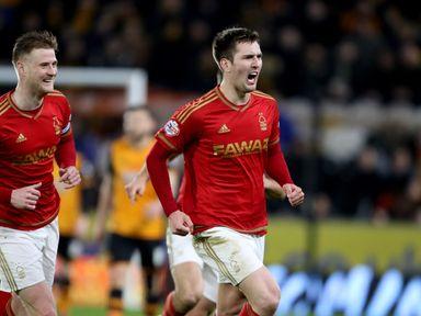 Nottingham Forest's Gary Gardner scored a tremendous equaliser