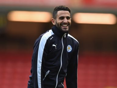 Riyad Mahrez, Watford v Leicester City