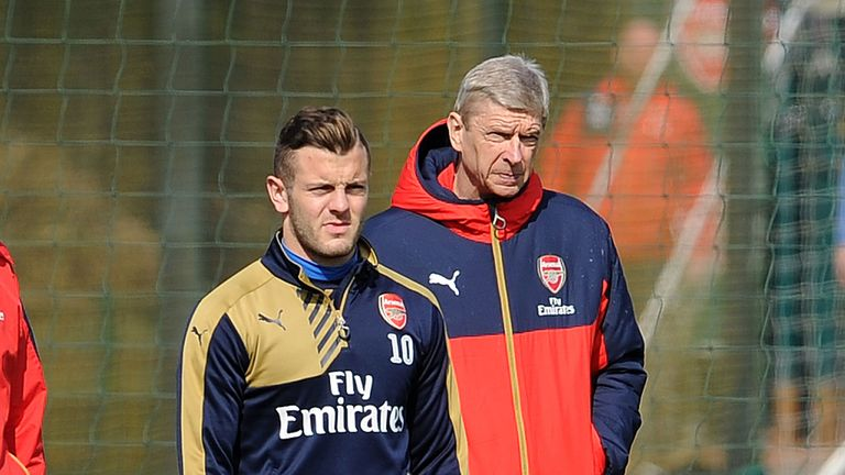 It remains to be seen whether Wilshere has a future at Arsenal