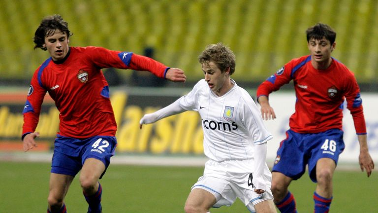 Aston Villa brought a third-string side to CSKA Moscow in the UEFA Cup