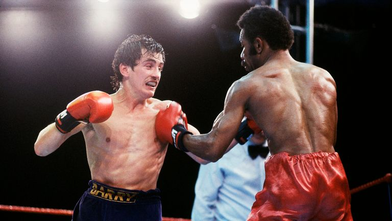Barry McGuigan beat Eusebio Pedroza at QPR's Loftus Road