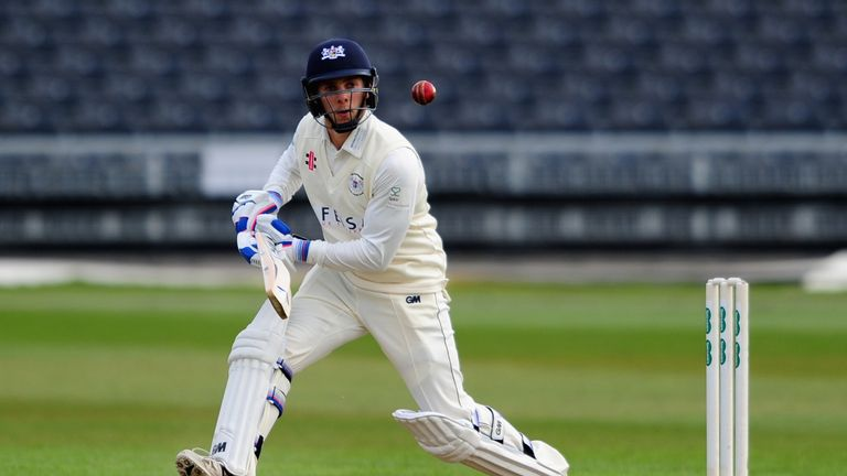Chris Dent: carrying Gloucestershire's hopes against Sussex