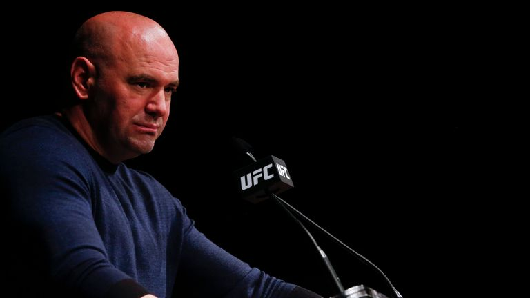 UFC president Dana White is optimistic a deal can be made