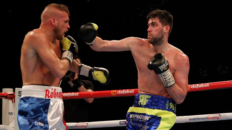 Rocky Fielding edged the split decision.