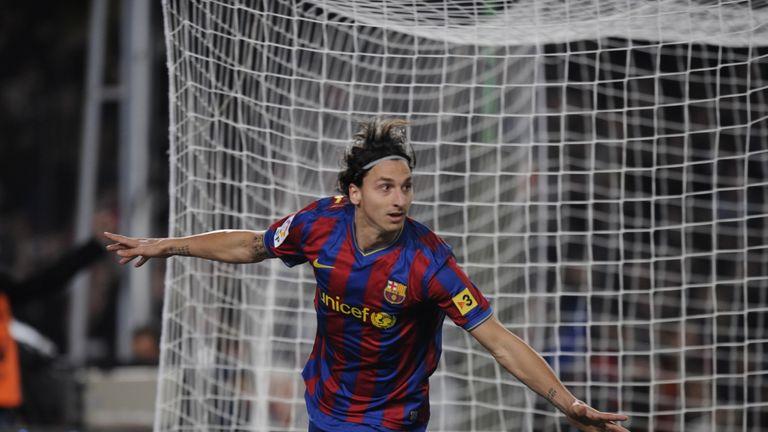 Barcelona are among Ibrahimovic's former clubs