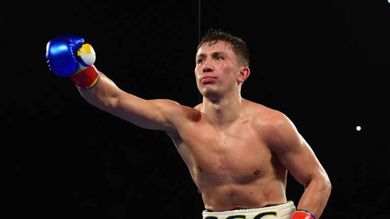 Gennady Golovkin could be on a collision course with Chris Eubank Jr