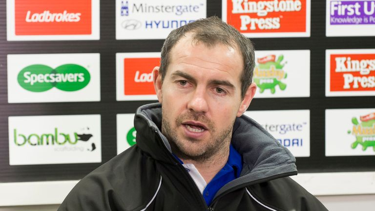 Ian Watson gave an honest and up front assessment following their loss