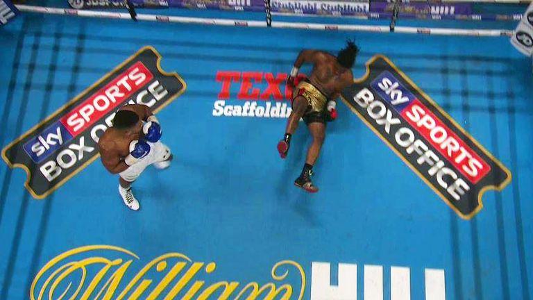Anthony Joshua demolishes Martin, captures IBF title