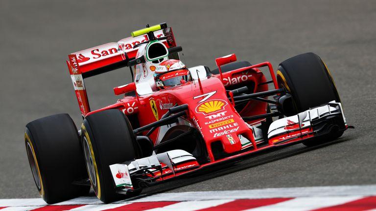 Chinese GP P2: Kimi Raikkonen leads Ferrari one-two ahead of ...