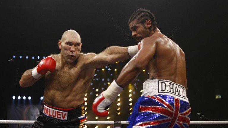 who won the david haye fight
