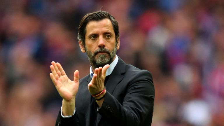 Previous manager Quique Sanchez Flores led Watford to a FA Cup semi-final at Wembley and an impressive 13th on the club's return to the Premier League last season