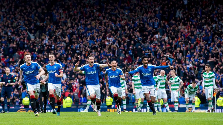 Rangers won a penalty shoot-out between the sides at the same stage of the Scottish Cup last season