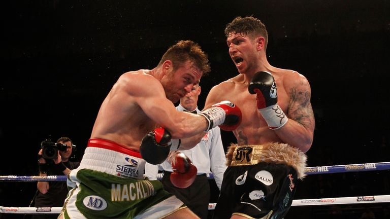 Brian Rose was just edged out by Matthew Macklin in their April middleweight clash