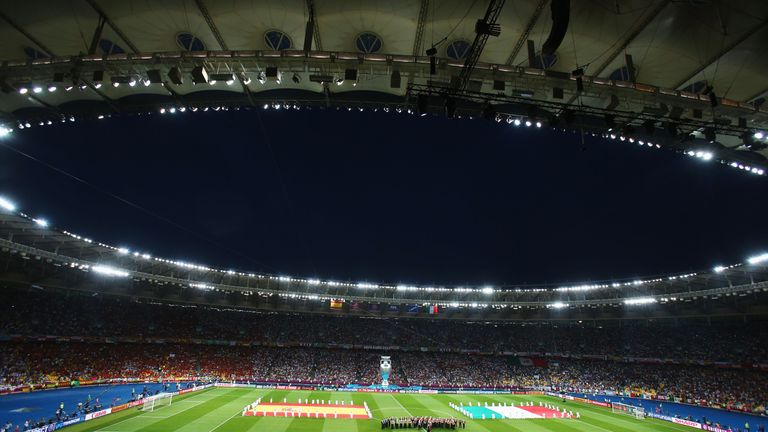 The 2018 Champions League final takes place in the Ukrainian capital