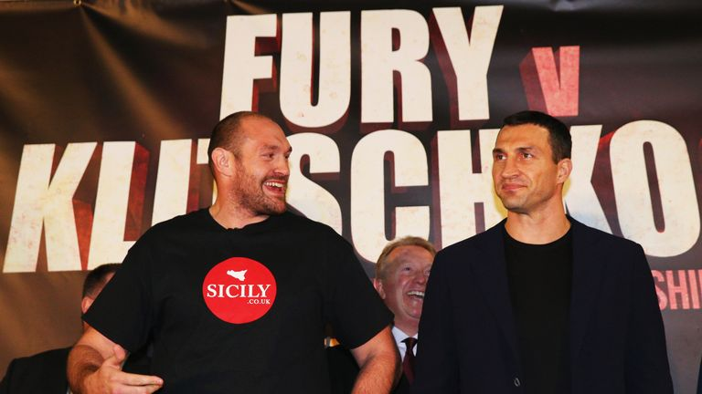 Fury and Wladimir Klitschko will lock horns again in July